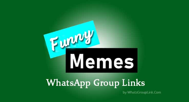 Funny Memes WhatsApp Group Links