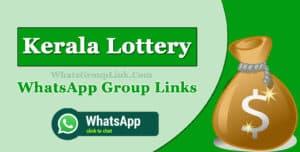Kerala Lottery WhatsApp Group Link